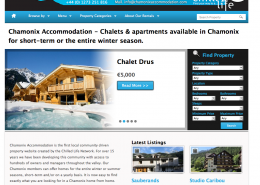 chamonix website design