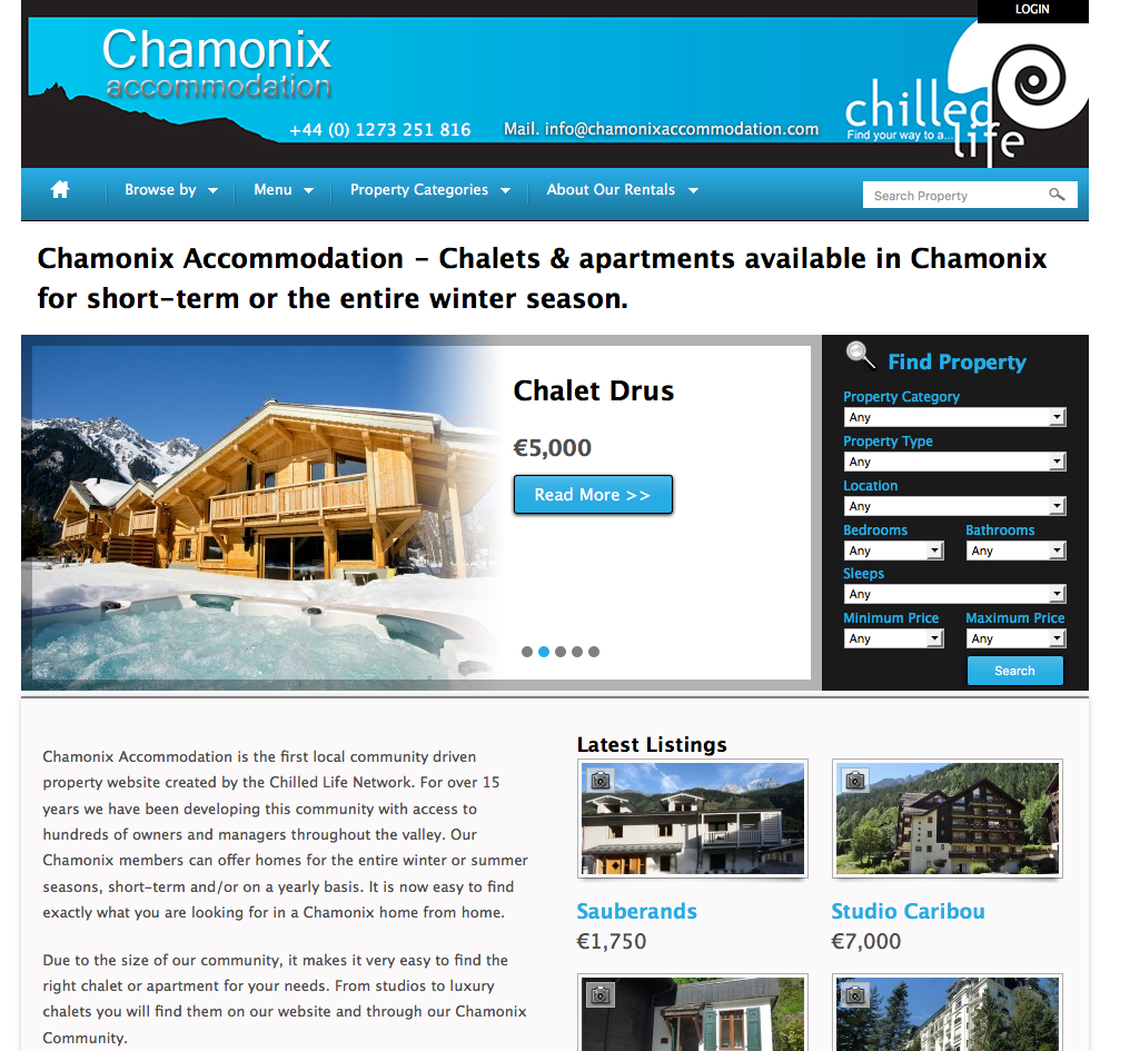chamonix accomodation