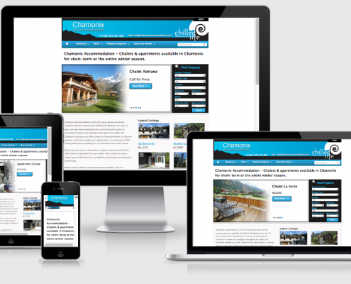 chamonixaccommodation responsive design