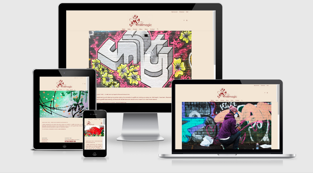 millimagic responsive website design